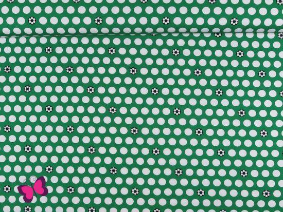 Sporty Dots Popeline Lycklig Design