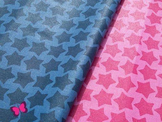 Staaars Baumwolle beschichtet Farbenmix