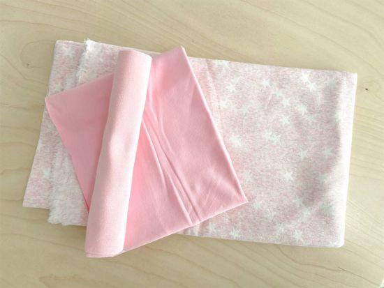 Stoffpaket Sterne rosa