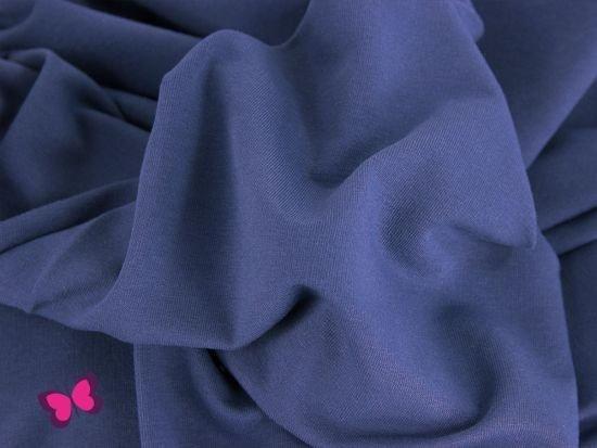 Sweat Maike Unifarben jeansblau