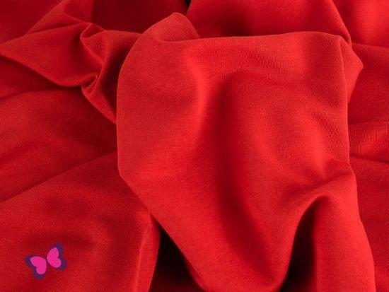 Sweat Maike Unifarben rot