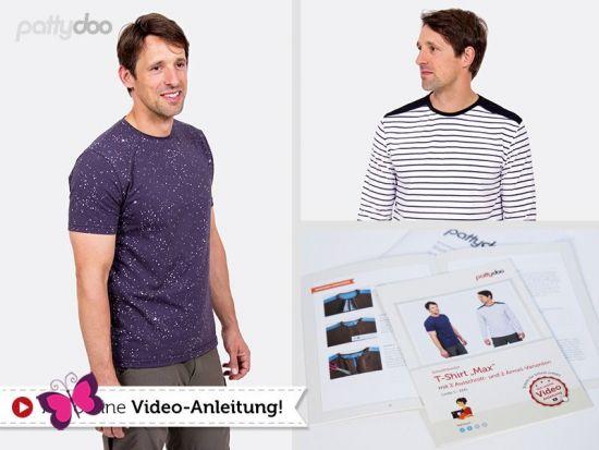 T-Shirt Max Schnittmuster
