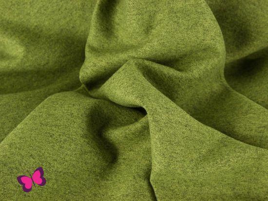 London Taschenstoff meliert hellgrün