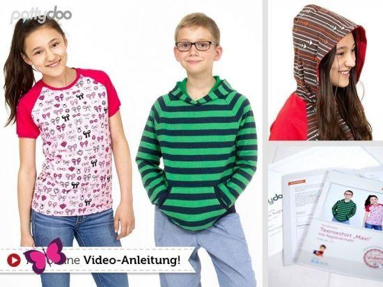 Teenshirt Maxi Schnittmuster