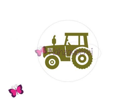 Traktor Button