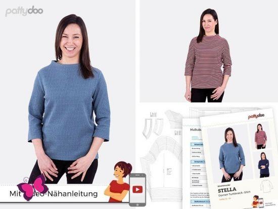 Turtleneck-Shirt Stella Schnittmuster