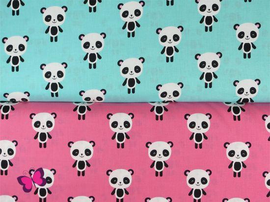 Urban Zoologie Baumwolle mit Pandabären