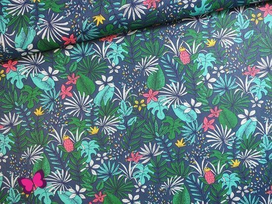 Urwald Blätter Baumwolle