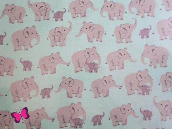 Wild Adventure Elefanten Baumwolle beschichtet