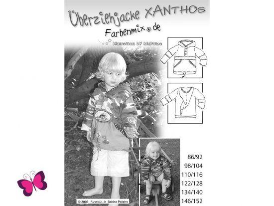 Schnittmuster Xanthos Überziehjacke Farbenmix