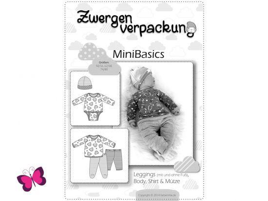 Schnittmuster Zwergenverpackung MiniBasics