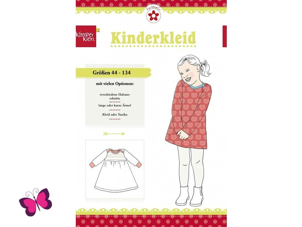 Kinderkleid Schnittmuster Klimperklein Farbenmix | eBay