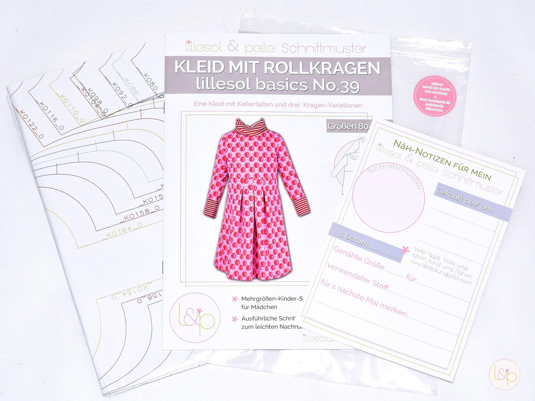 ᐅ Kleid mit Rollkragen lillesol basics No. 39