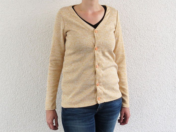 Cardigan aus Strick